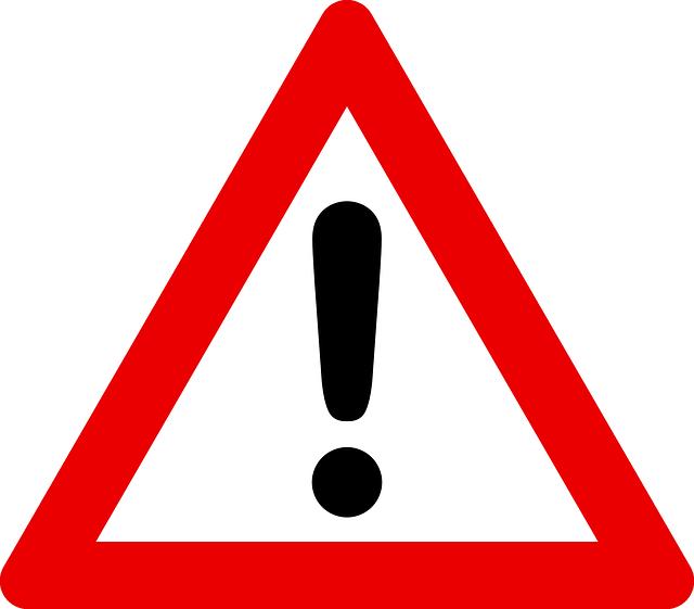 Logo Attention Danger