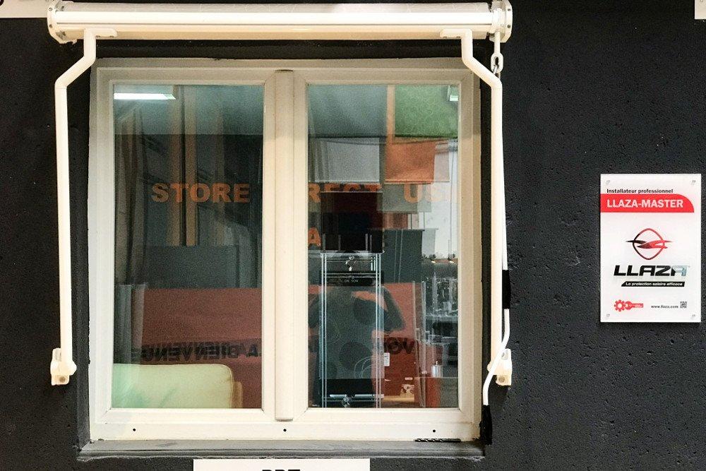 Store bannette PRT showroom fermé